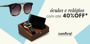 Óculos de sol a partir de 40 reais