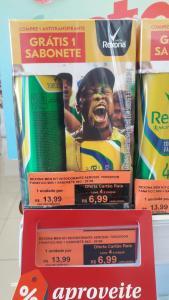 [Lojas físicas - Droga Raia]Kit desodorante + sabonete Rexona L4P2