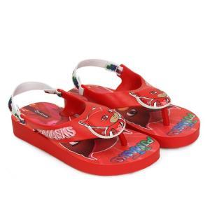 Sandália Infantil Grendene PJ Masks Masculino - Vermelho - R$22