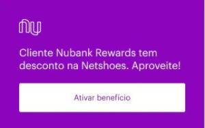 Netshoes - 10% de desconto para clientes Nubank