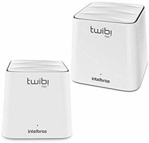 Roteador mesh sistema twibi fast Intelbras kit com 2