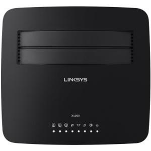 Roteador Linksys Wireless X1000 N 300mbps Modem Adsl2+ por R$ 70