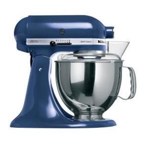 [PayPal] Batedeira Planetária Stand Mixer KitchenAid Artisan 10 Velocidades Blue Willow 127V KEA33CZ por R$ 1263