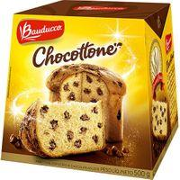 Chocottone/Panettone Bauducco 500g | R$8