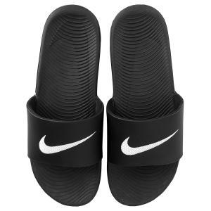 Sandália Nike Kawa Slide Masculina - Preto e Branco - R$75