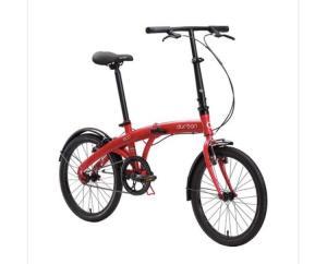Bicicleta Dobrável Durban Vermelha