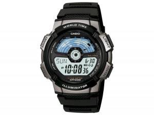 Relógio Masculino Casio Digital - Resitente à Água Cronômetro AE-1100W-1AVDF - R$109