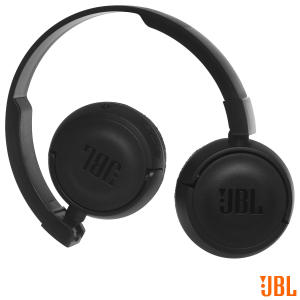 Fone de Ouvido Sem Fio JBL On Ear Headphone Preto - JBLT450BTBLK - JBLT450BTPTO_PRD