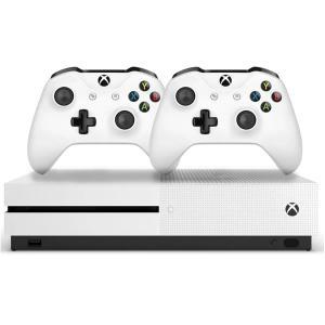 Xbox One S 1 TB com 2 controles Originais e com Nota Fiscal, produto Nacional | R$1099
