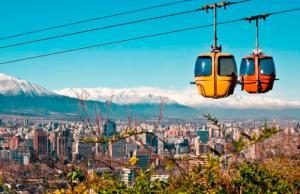 Santiago do Chile: Aéreo com 3 ou 5 Noites com café e Passeio ao Valle Nevado (acomodação dupla) | A partir de R$1.199