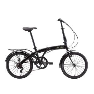 Bicicleta Dobrável Aro 20 Durban ECO+ 6 Marchas – Preta - R$899