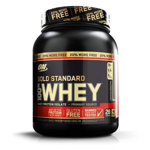 Whey Protein 100% Whey Gold Standard + 20% Grátis 1.09kg - Optimum Nutrition Por R$ 151,99