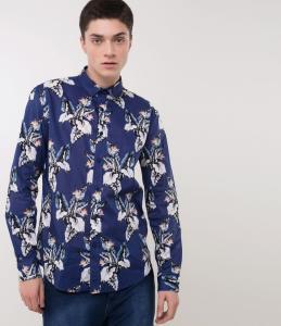 Camisa masculina estampa floral - R$40