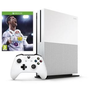 Console Xbox One 1TB + Jogo FIFA 18 - Mídia Física - R$1.350