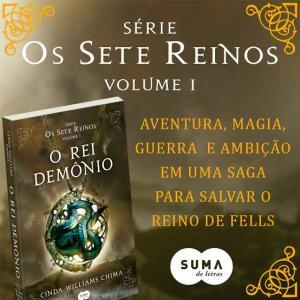 Livro - O Rei demônio - R$10