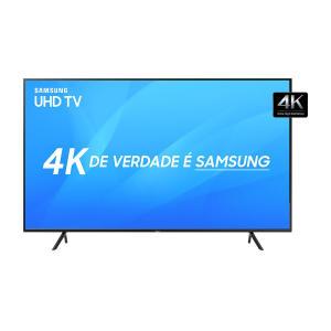 """Smart TV LED 55"""" Samsung NU7100 Ultra HD 4K com Visual Livre de Cabos por R$ 2699"""