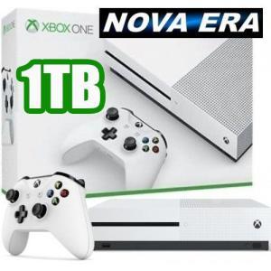 Xbox One S - 1TB - NOVO - Cor Branca - R$1080
