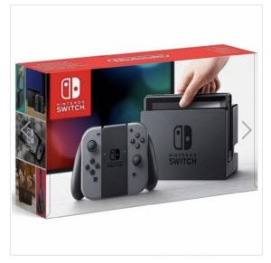 Nintendo Switch 32gb cinza ou neon R$1.599,90 à vista (R$1.849,90 parcelado)