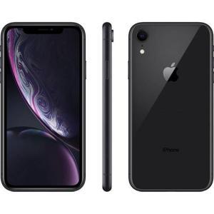 """iPhone XR Apple com 64GB, Tela Retina LCD de 6,1"""", iOS 12, Câmera Traseira 12MP, Resistente à Água e Reconhecimento Facial – Preto - R$4038"""