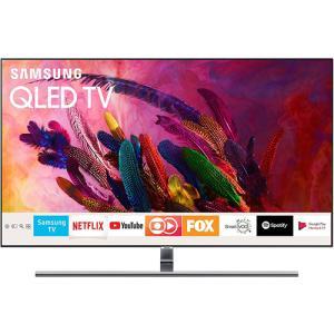 "[AME]Smart TV QLED 55"" Samsung 2018 QN55Q7FNAGXZD Ultra HD 4k Com Conversor Digital 4 HDMI 3 por R$ 4499"