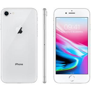 "iPhone 8 - 64GB Prata Tela 4.7"" IOS 4G Câmera 12MP - Apple | R$2.672"