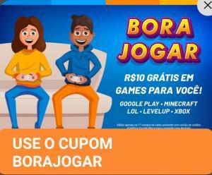 [1ª compra] R$10 grátis em games no RecargaPay