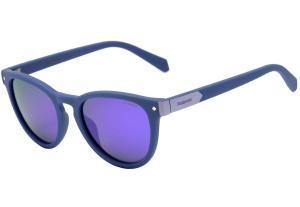 Óculos de Sol infantil Polaroid PLD 8026 - B3V MF Polarizado, Lente 4,7 cm - R$125
