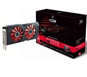 Placa de Vídeo XFX Radeon RX 570 4GB OC+ RS XXX Edition RX-570P4DFD6 DDR5 | R$679