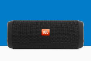 Caixa de Som Portátil JBL Flip4 16W Com Bluetooth à Prova D'água Preto - R$430