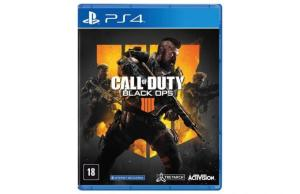 Jogo Call Of Duty Black Ops 4 - PS4 Mídia Física. Em até 12x!