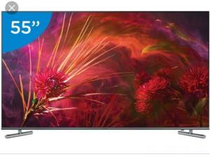 "Smart TV 4K Samsung QLED 2018 UHD 55"" com Modo Ambiente, Tela de Pontos Quânticos, HDR1000 e Wi-Fi - QN55Q6FNAGXZD - SGQN55Q6FNPTAB - R$3999"
