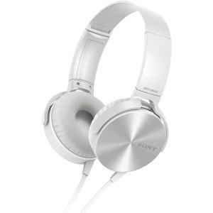 Fone de Ouvido Sony P2 Branco MDR-XB450AP