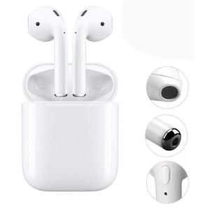 Fone Ouvido Sem Fio Bluetooth TWS HBQ I7s para iPhone Samsung Motorola - Branco