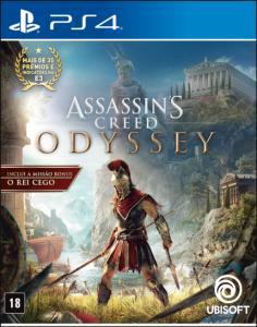 Assassins Creed Odyssey - PS4 - Com Cartão Crédito