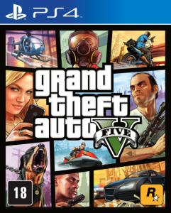 GTA - Grand Theft Auto V - PS4