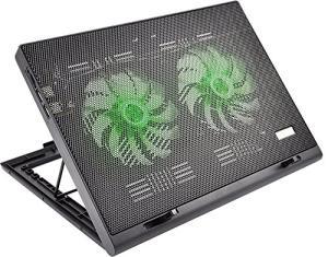 Cooler para Notebook Power Gamer LED Luminoso , Warrior, Verde - AC267 | R$69