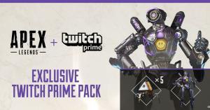 (Twitch Prime) Apex Legends - Skin Lendária Pathfinder + 5 Pacotes Apex