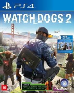 [Cartão Saraiva] Watch Dogs 2 - PS4