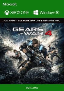 Jogo Gears of War 4 Xbox One/PC - (Midia Digital) - Gears of War 4 R$11