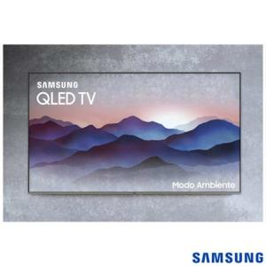 "Smart TV 4K Samsung QLED 2018 UHD 55"" - R$3999"