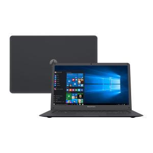 "Notebook Positivo Intel Atom 2GB 32GB Tela 14"" Windows 10 Home - R$899"