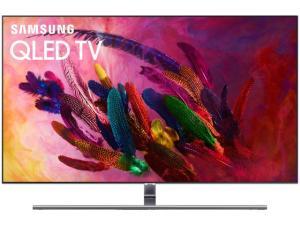 "Smart TV QLED 55"" Samsung 4K/Ultra HD Q7FN - Tizen Conversor Digital Modo Ambiente Linha 2018 - R$4999"