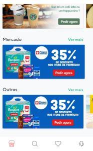 Até 35% off em fraldas na farmácia Pague Menos [Rappi]