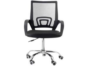 Cadeira em Aço de Escritório Giratória Travel Max - Diretor 6010 - R$180