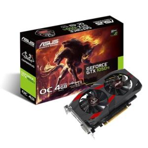 (14%Desconto) Placa de Vídeo Asus NVIDIA GeForce GTX 1050 Ti OC Cerberus 4GB, GDDR5 - CERBERUS-GTX1050TI-O4G
