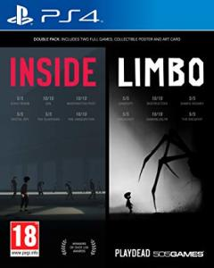 LIMBO & INSIDE Bundle - PS4 R$ 18,38 (PSN Plus)