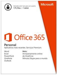 Microsoft Office 365 Personal - Licença para 1 ano | R$99