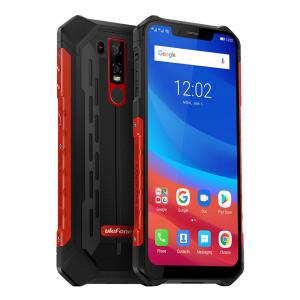 Ulefone 6 NFC IP68 IP69K impermeável 6,2 polegadas 6 GB 128 GB Helio P60 Octa núcleo 4G Smartphone - preto (versão EU) | R$1283