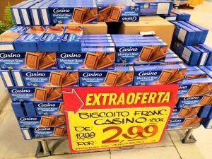 [EXTRA ANCHIETA] Biscoito Casino Mention Bien por R$3 (Loja física)