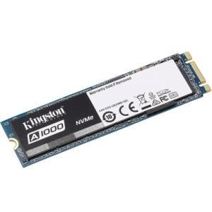 SSD Kingston A1000 M.2 2280 240GB PCIe NVMe Ger 3.0 x 2 Leituras: 1.500MB/s e Gravações: 800MB/s - SA1000M8/240G - R$280